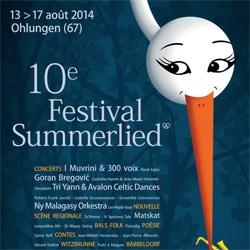 Découvrez le programme du Festival Summerlied 5