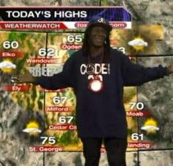 Une légende du rap US présente la météo 11
