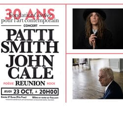 Patti Smith et John Cale fêtent les 30 ans de la Fondation Cartier 15