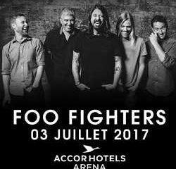 Les Foo Fighters de retour à Paris le 3 juillet 2017 6
