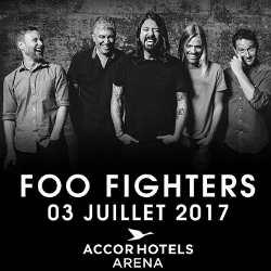 Les Foo Fighters de retour à Paris le 3 juillet 2017 5