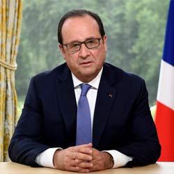 Le président François Hollande envoie un tweet à Rihanna 5