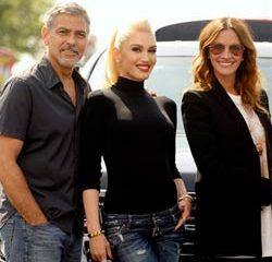George Clooney, Gwen Stefani et Julia Roberts déchaînés 9
