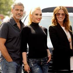 George Clooney, Gwen Stefani et Julia Roberts déchaînés 6