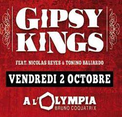 Les Gipsy Kings sur la scène de l'Olympia en 2016 11