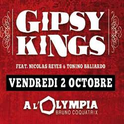 Les Gipsy Kings sur la scène de l'Olympia en 2016 5