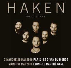 Le groupe Haken en tournée française 11