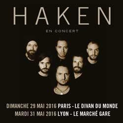 Le groupe Haken en tournée française 5