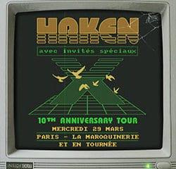 Haken de retour en France pour 3 concerts en 2017 6