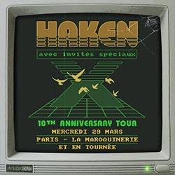 Haken de retour en France pour 3 concerts en 2017 5