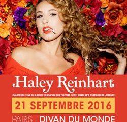 Haley Reinhart en concert à Paris le 21 septembre 2016 7