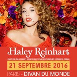 Haley Reinhart en concert à Paris le 21 septembre 2016 5