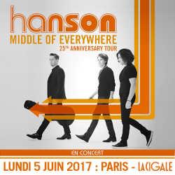 Les Hanson en concert à La Cigale le 5 juin 2017 5