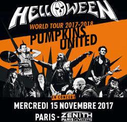 Helloween ressuscitera à Paris le 15 novembre 2017 6