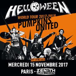 Helloween ressuscitera à Paris le 15 novembre 2017 5