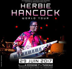 Herbie Hancock en concert à l'Île Seguin le 29 juin 2017 6