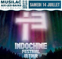 Indochine en concert à Musilac le 14 juillet 2018 7