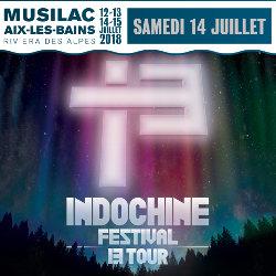Indochine en concert à Musilac le 14 juillet 2018 5