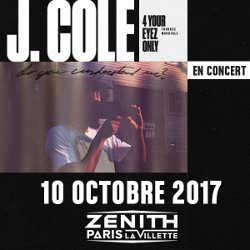 J. Cole en concert à Paris le 10 octobre 2017 5