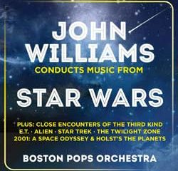 John Willams Conducts Music From Star Wars 11