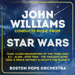 John Willams Conducts Music From Star Wars 6
