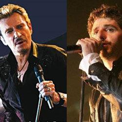 Johnny Hallyday en duo avec Patrick Fiori 6
