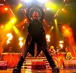 Judas Priest le 17 juin 2015 au Zénith de Paris 8