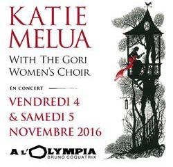 Katie Melua les 4 et 5 novembre à l'Olympia 10