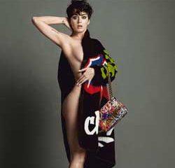 Katy Perry à moitié nue pour la marque Moschino 7
