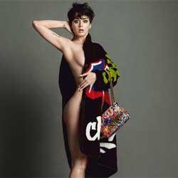 Katy Perry à moitié nue pour la marque Moschino 5