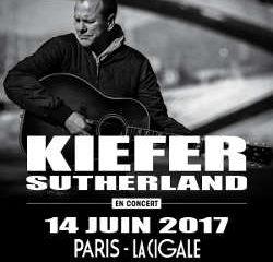 Kiefer Sutherland en concert à Paris le 14 juin 2017 9