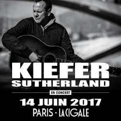 Kiefer Sutherland en concert à Paris le 14 juin 2017 5