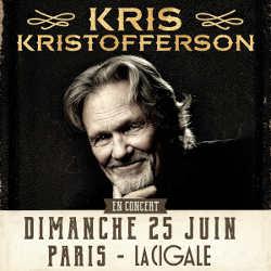 Kris Kristofferson en concert à Paris le 25 juin 2017 6