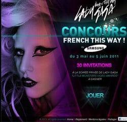 Gagnez une soirée privée avec Lady Gaga 12