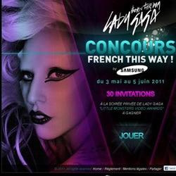 Gagnez une soirée privée avec Lady Gaga 5