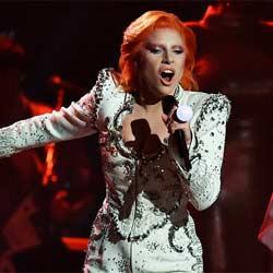 L'hommage de Lady Gaga à David Bowie 5