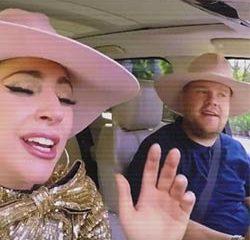 Lady Gaga se déchaîne au côté de James Corden 10