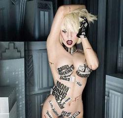 Lady Gaga sexy dans le clip de G.U.Y.
