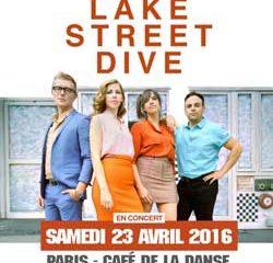 Lake Street Dive en concert au Café de la Danse 5