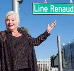 Line Renaud inaugure sa rue à Las Vegas