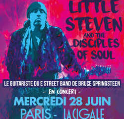 Le guitariste de Bruce Springsteen en concert à la Cigale 12
