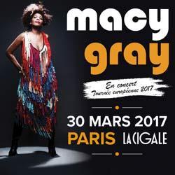 Macy Gray en concert à La Cigale le 30 mars 2017 5