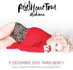 Madonna en concert à Paris le 9 décembre 2015 7