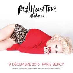 Madonna en concert à Paris le 9 décembre 2015 5