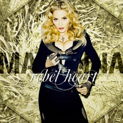 Madonna sortira en mars l'album Rebel Heart 5