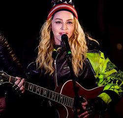 Madonna improvise un concert sauvage pour Hillary Clinton 9