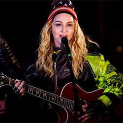 Madonna improvise un concert sauvage pour Hillary Clinton 5