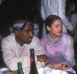 Madonna larguée par Tupac pour sa couleur de peau 8