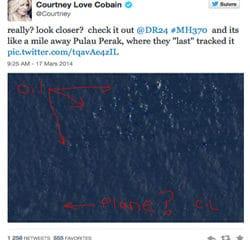 L'avion de la Malaysia Airlines localisé par une star