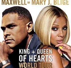 Maxwell & Mary J. Blige en concert à Paris le 16 octobre 2016 8